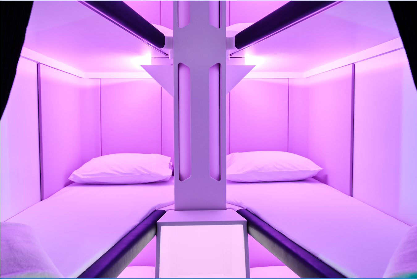 Major airline unveils new lie-flat bunk beds for economy