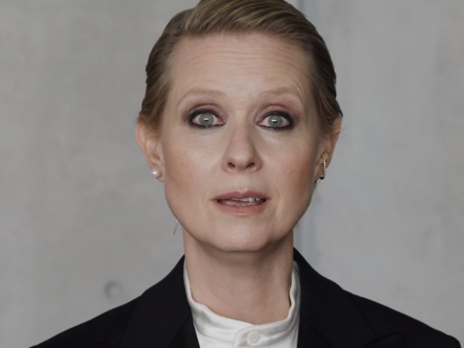 Cynthia Nixon praised for viral video about impossible ...