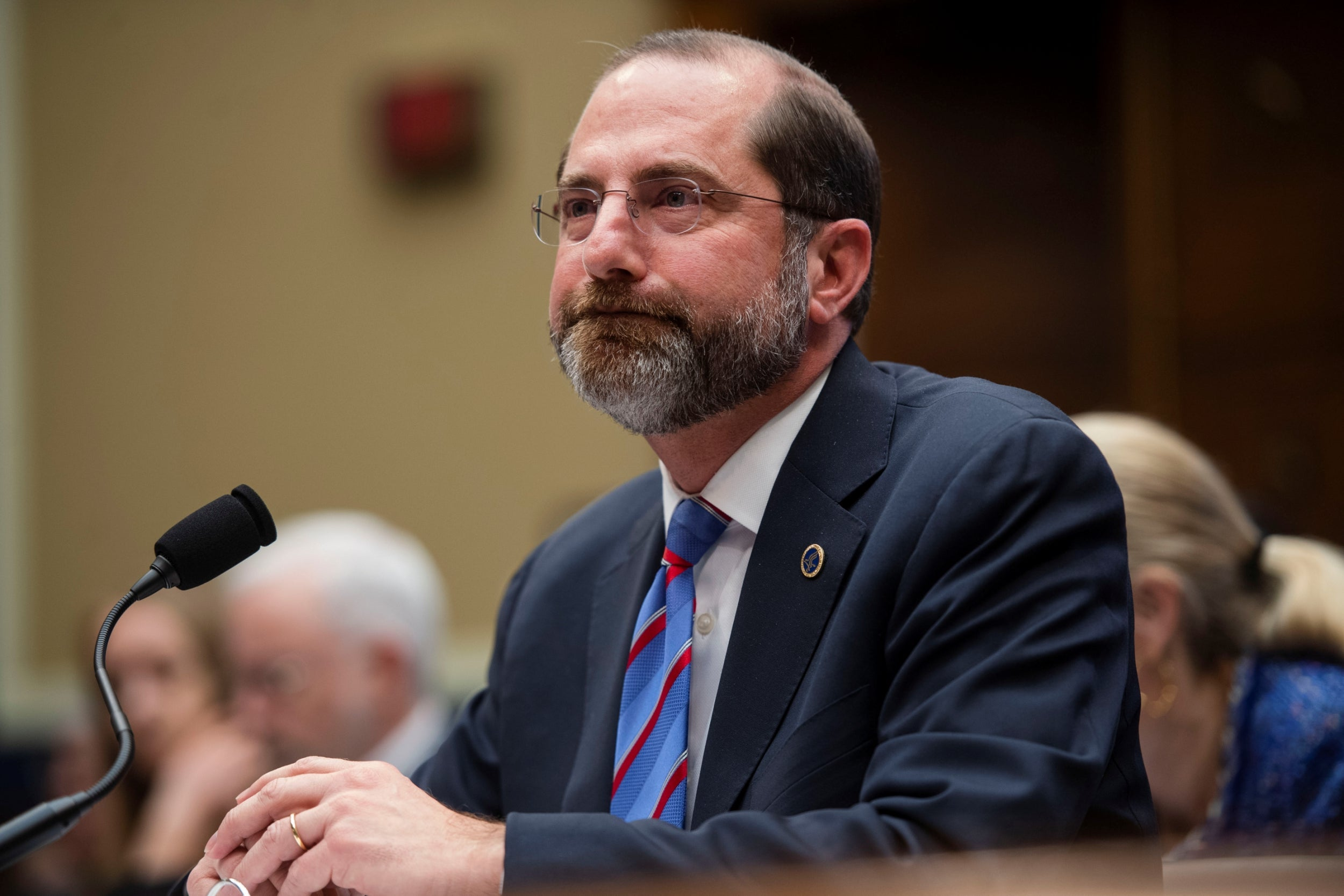 By Publicly Contradicting Trump On Coronavirus Alex Azar Just Became The Most Important Person In The Administration The Independent The Independent