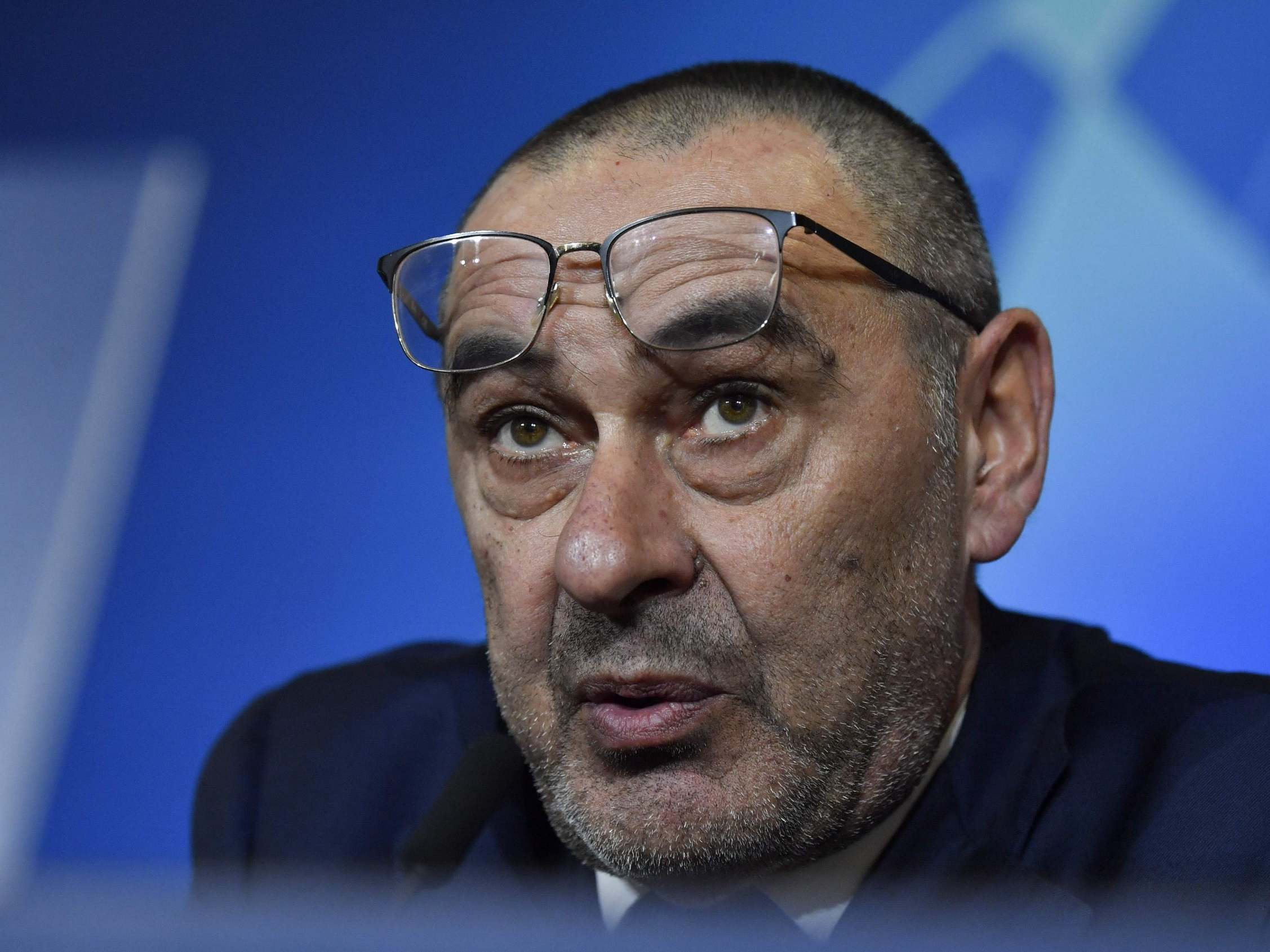 Frustrated Sarri reveals what was missing in Juve loss to Lyon