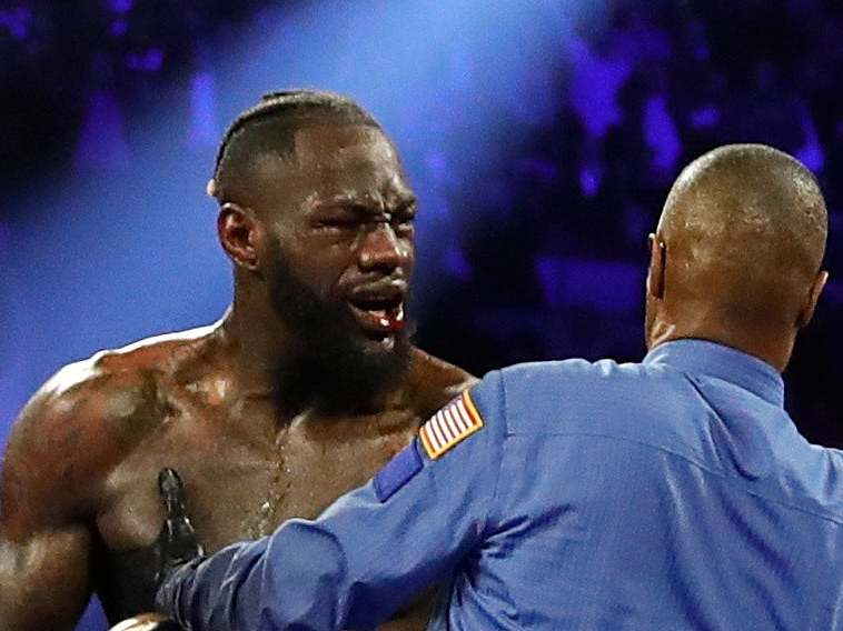 Deontay Wilder makes surprise admission over Tyson Fury fight