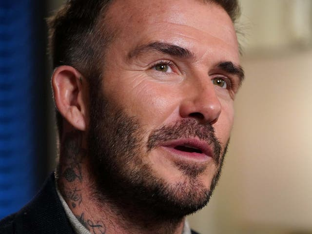 Beckham is bullish about the potential for Inter Miami