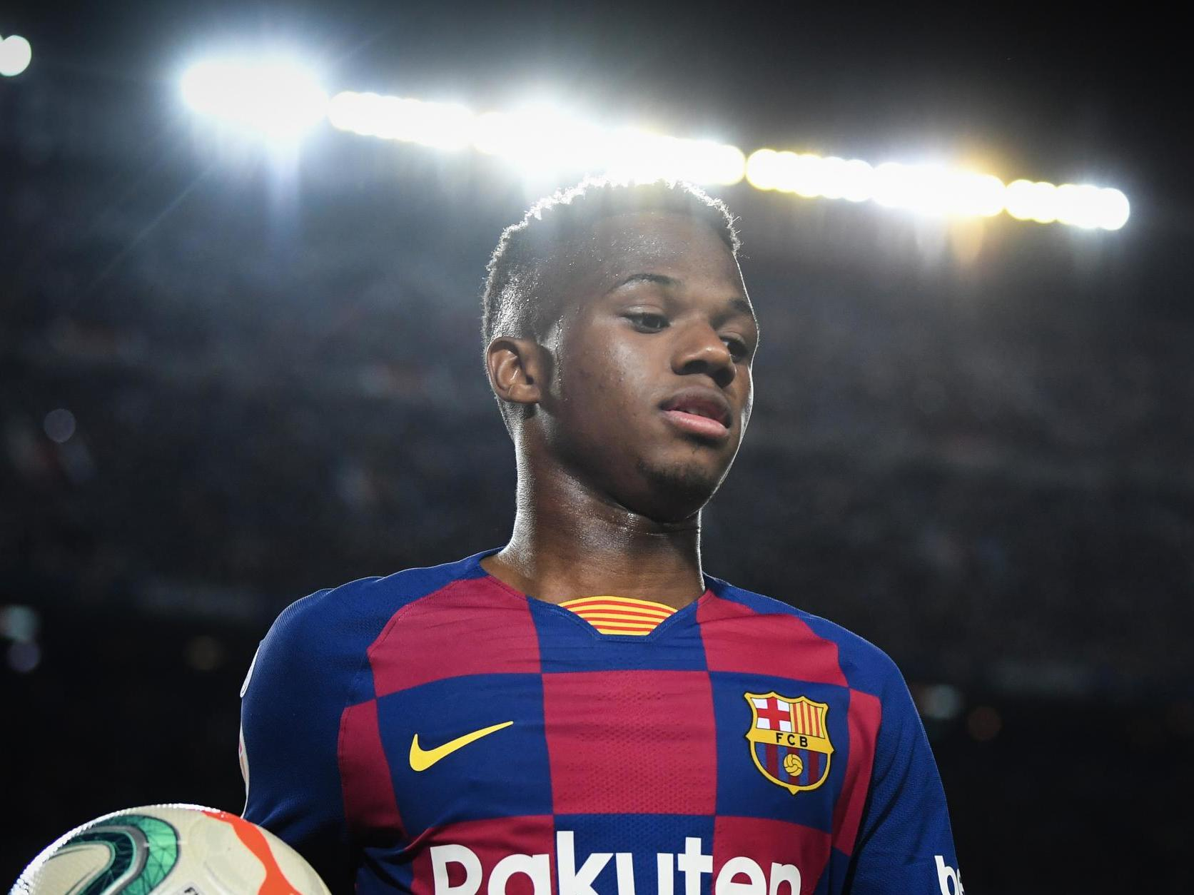 How Ansu Fati shoulders the weight of Barca's past and future