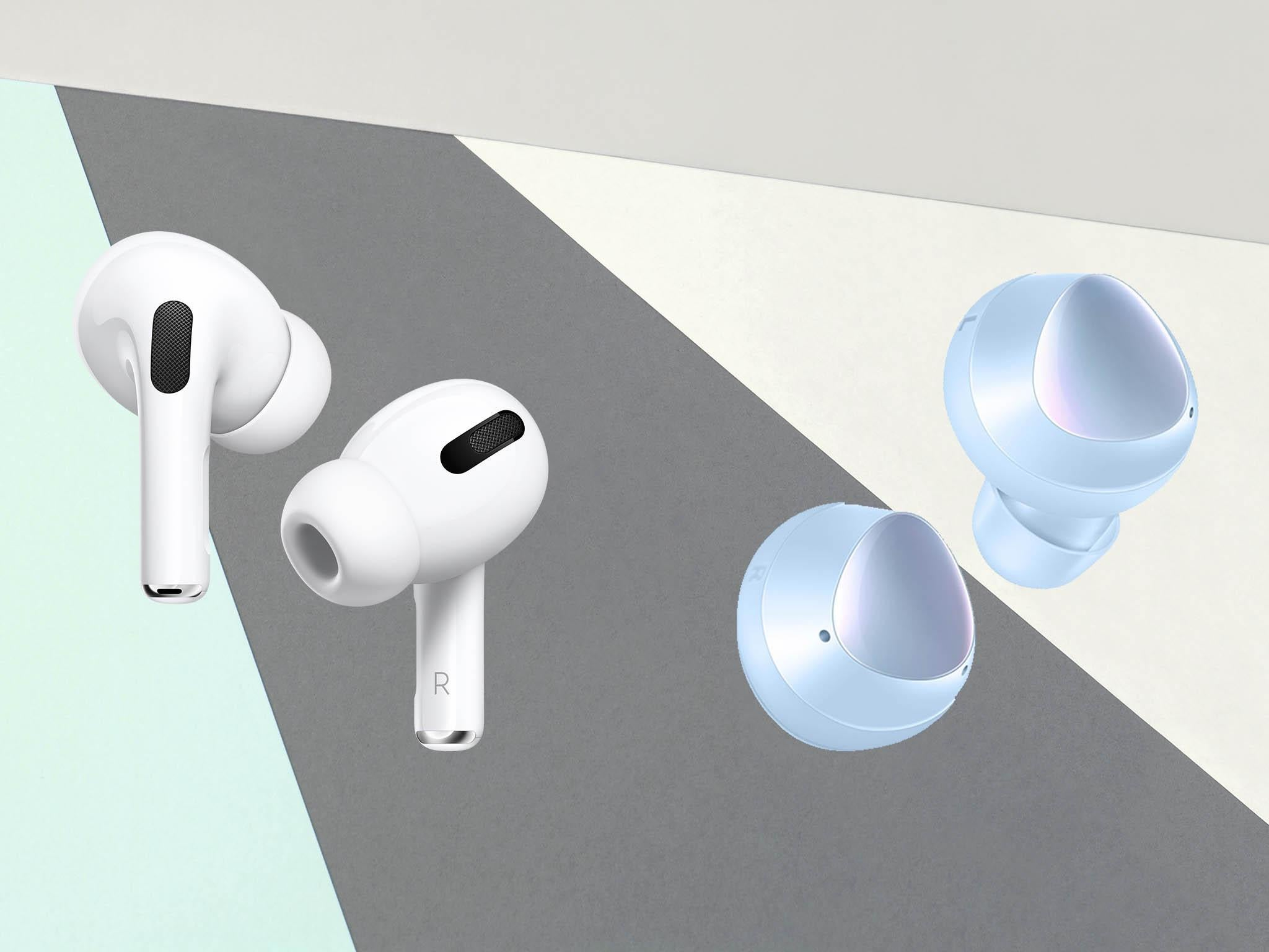 Samsung Galaxy Buds V Apple Airpod Pro Which Are The Best In Ear