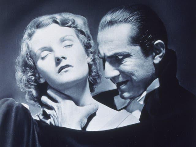 Helen Chandler and Bela Lugosi in 'Dracula'