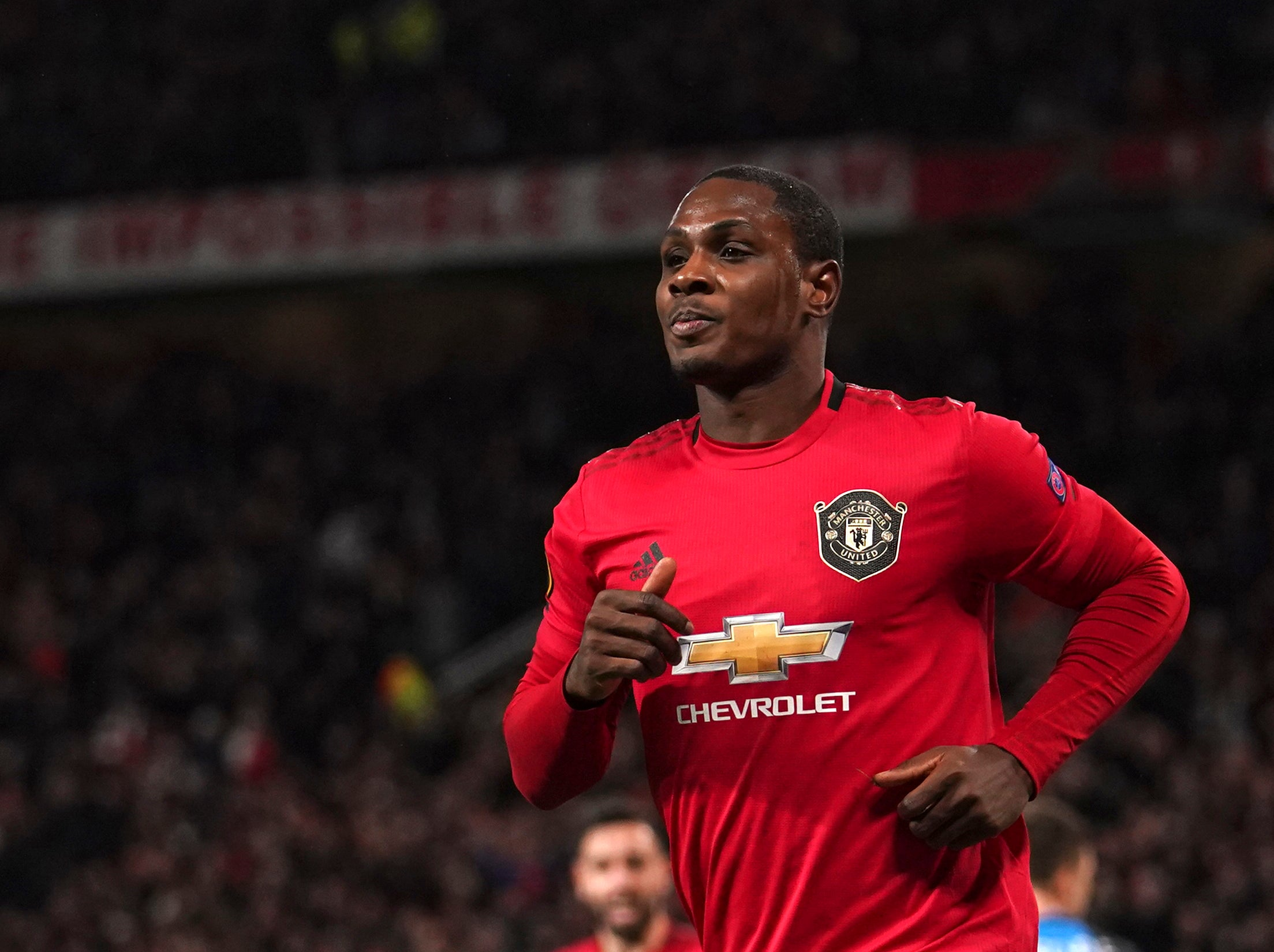 Odion Ighalo 'will give blood' to succeed at Manchester United ...