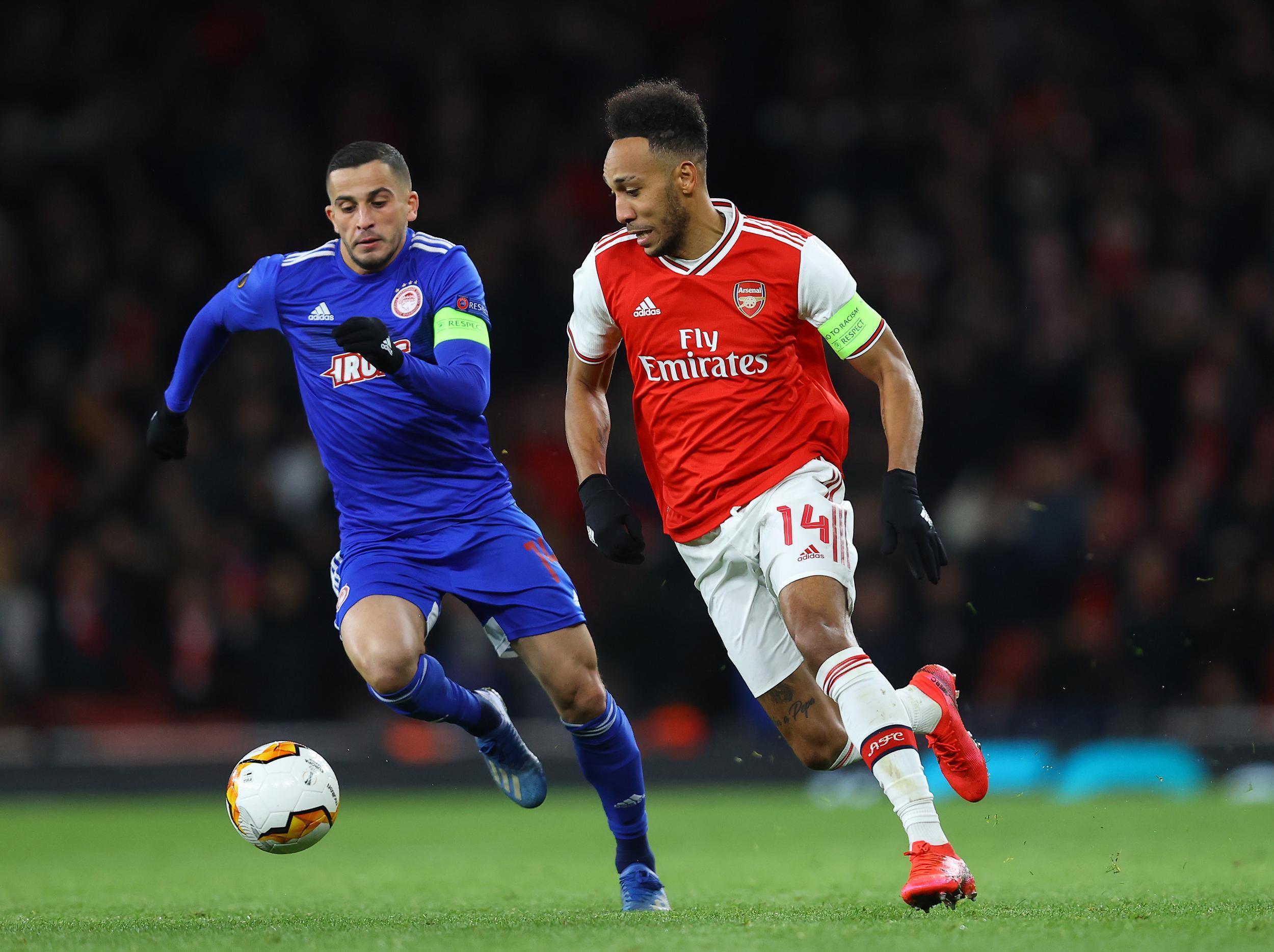 Arsenal vs Olympiacos LIVE – Latest updates