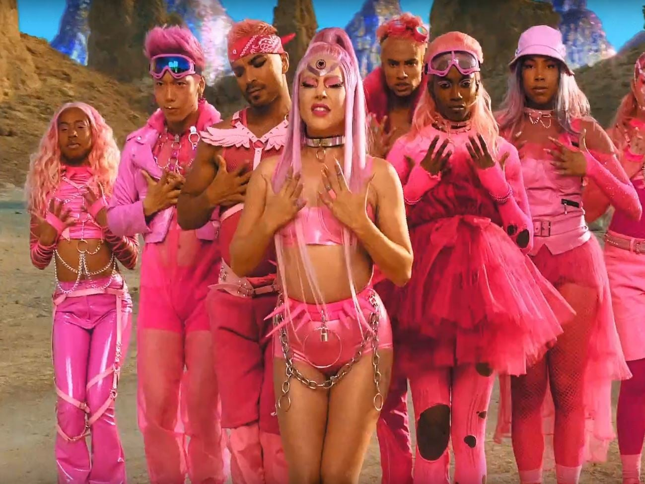 Lady Gaga 'Stupid Love': All the intergalactic fashion looks from the new music video