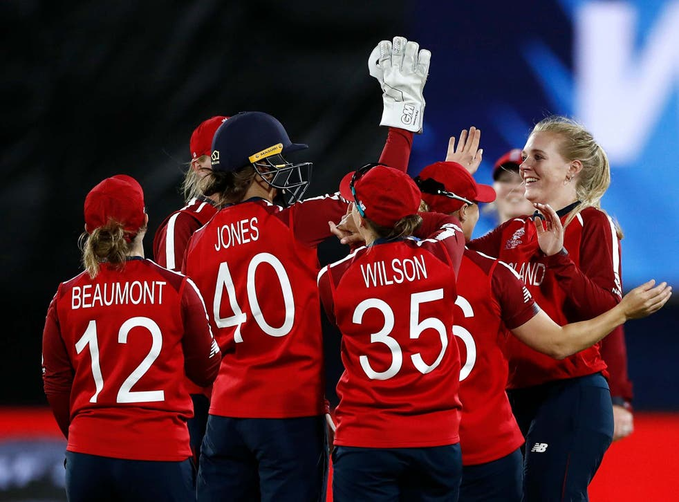 Sarah Glenn and Sophie Ecclestone combined to rip through Pakistan