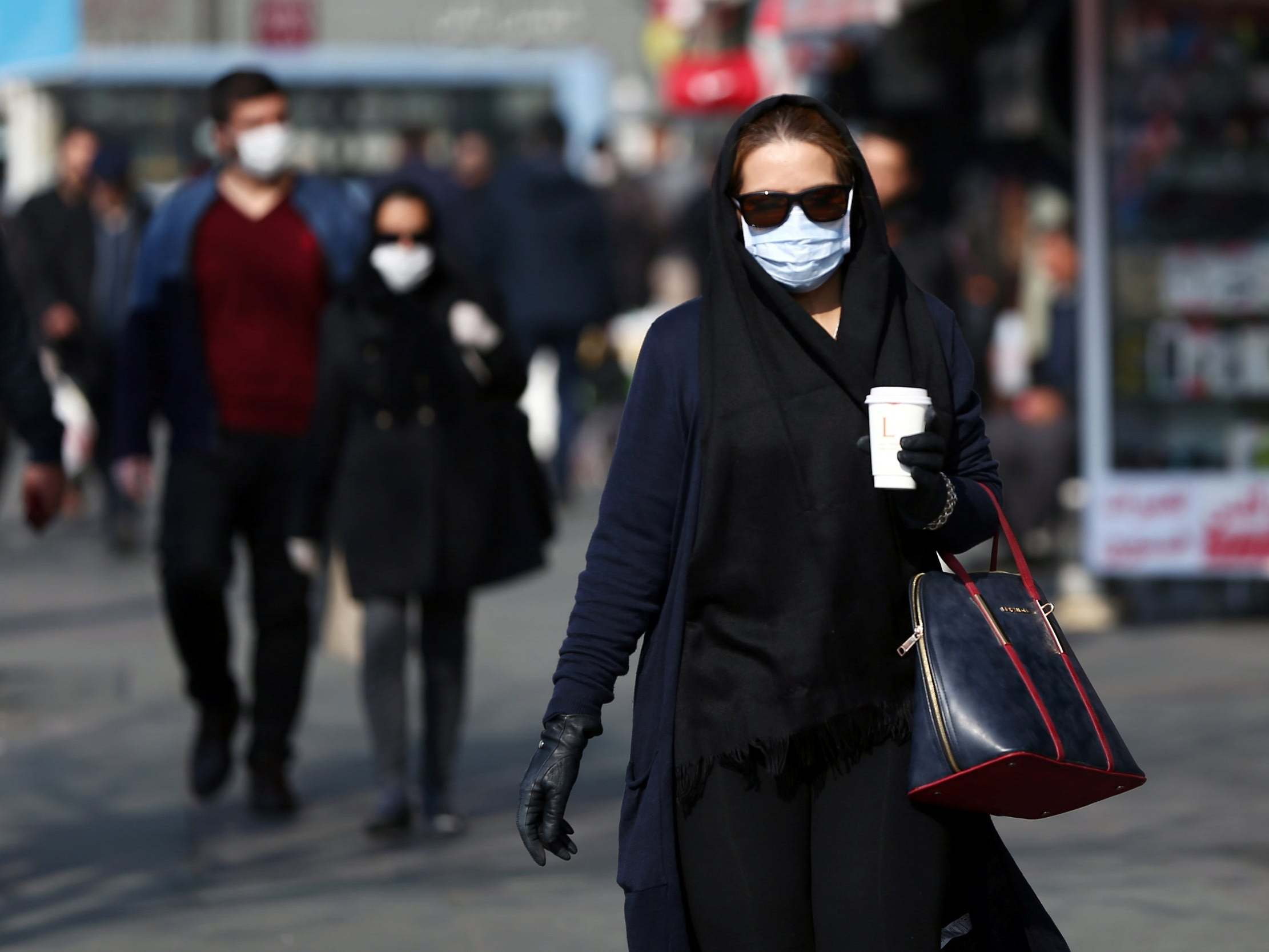 Coronavirus iran's deaths at least 210
