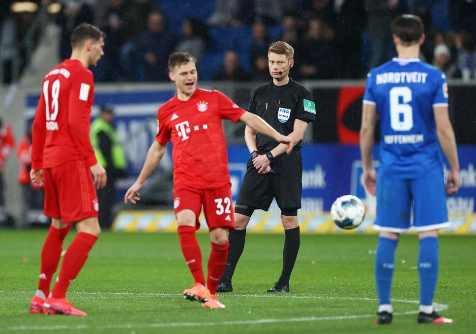 Bayern Munich And Hoffenheim Finish Match Passing To Each Other