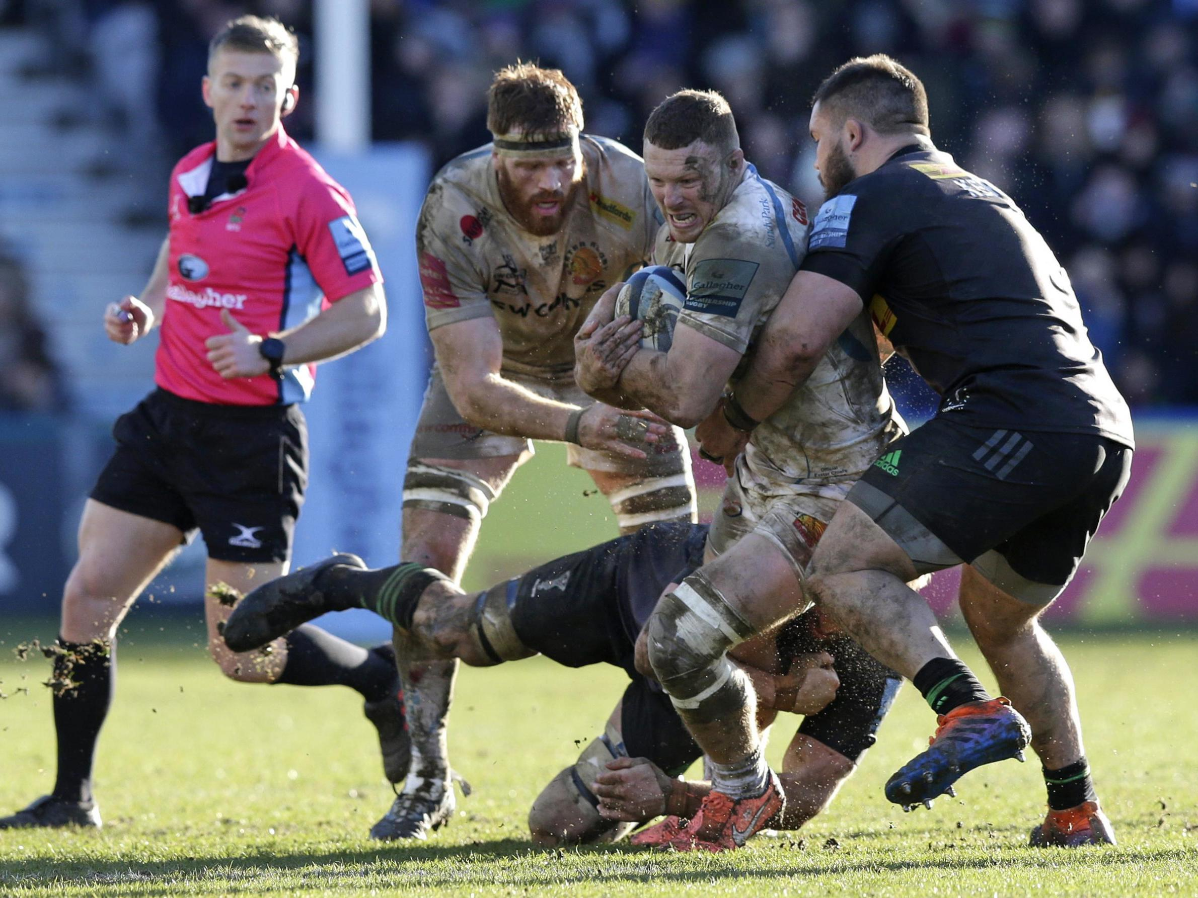Harlequins vs Exeter result: Quins stun Chiefs with last-gasp penalty try