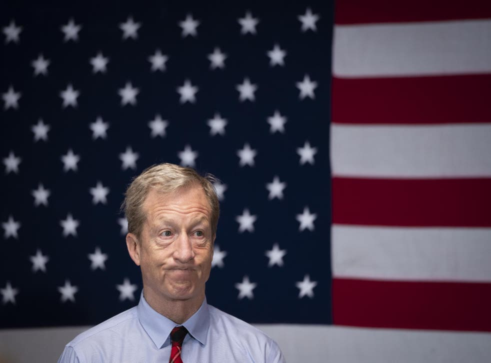 Tom Steyer dropped out of the 2020 presidential race after a third-place finish in South Carolina, where he had gambled on his campaign's turning point.