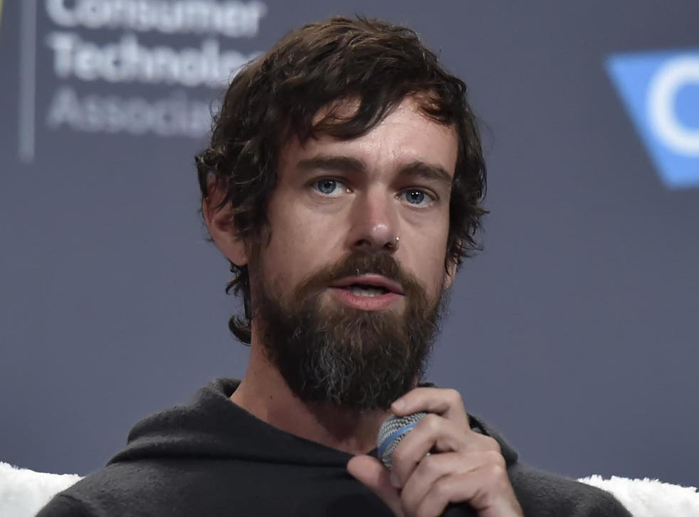 Twitter's Jack Dorsey is thought to own just two per cent of the company he co-founded