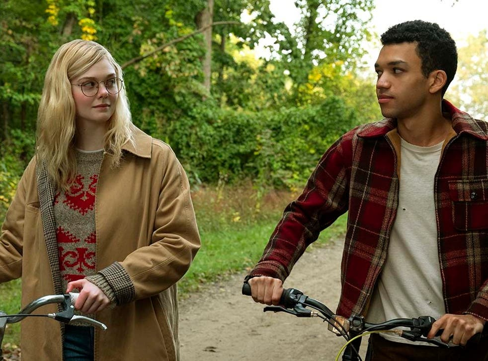 Triggering: Elle Fanning and Justice Smith in Netflix's All the Bright Places