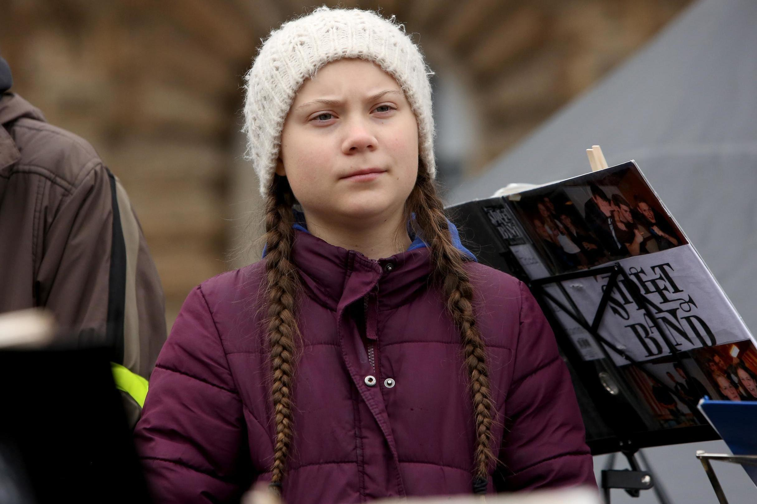 Greta Thunberg Responds To Cartoon Depicting Her Being Sexually
