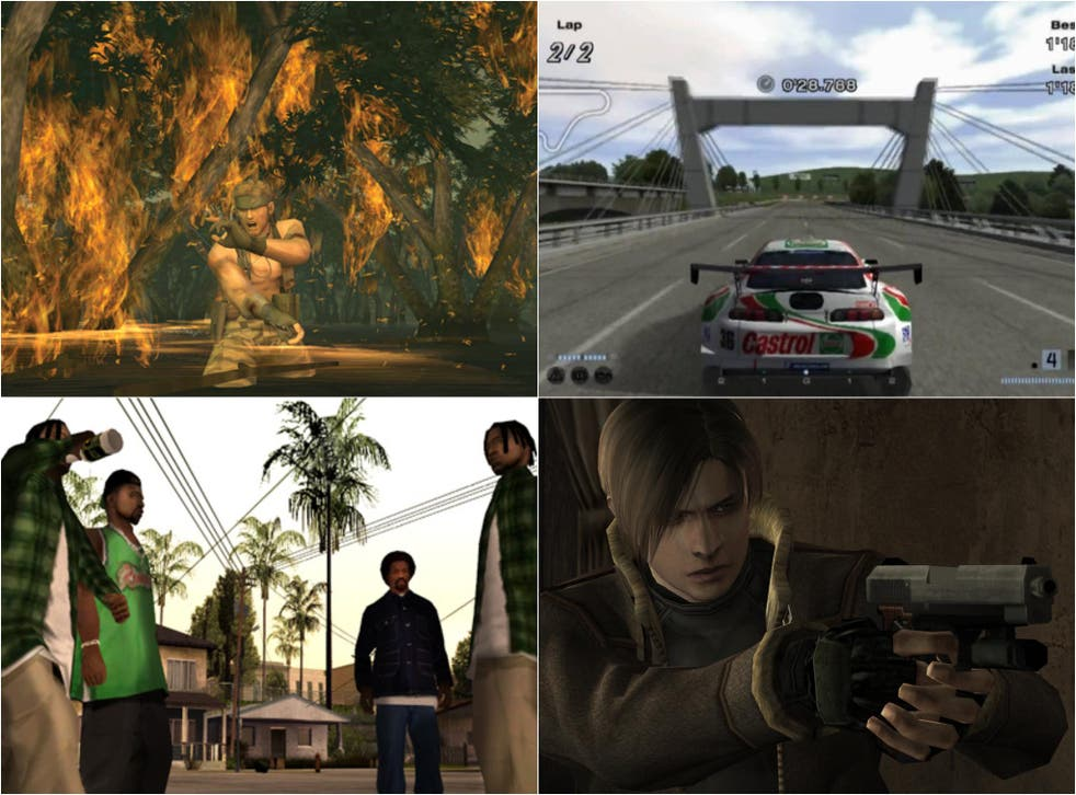 Metal Gear Solid 3: Snake Eater, Gran Turismo 4, Resident Evil 4 and Grand Theft Auto III: San Andreas were all released on PS2