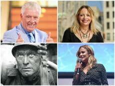 The celebrities who died in 2020