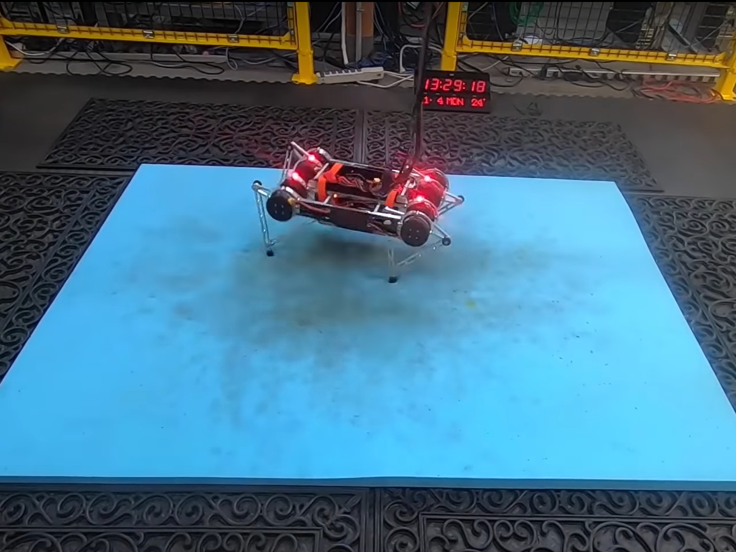 Google robot teaches itself to walk without human help in just a