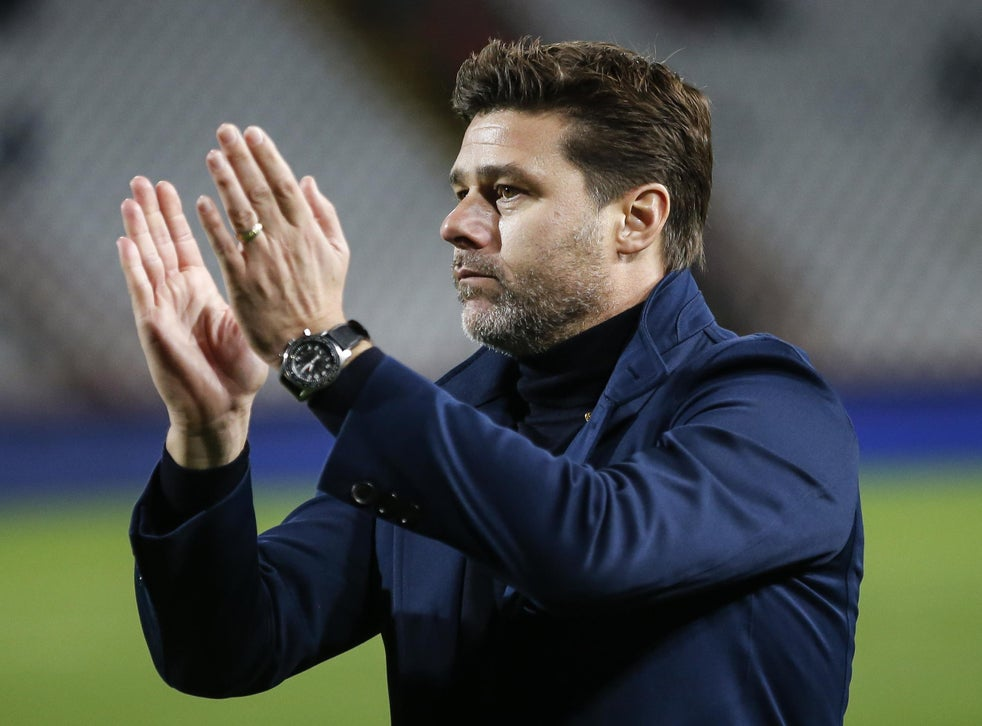 Tottenham Mauricio Pochettino Teases Future Spurs Return Due To Desire To Lead Club To Title The Independent The Independent