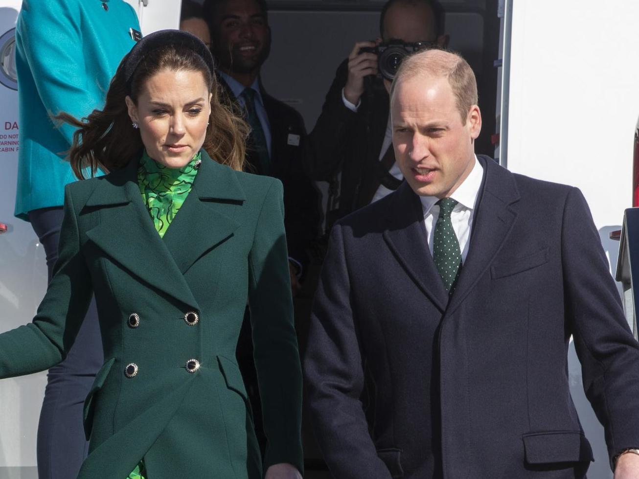 Coronavirus: Prince William jokes about 'spreading' Covid-19 during Ireland tour