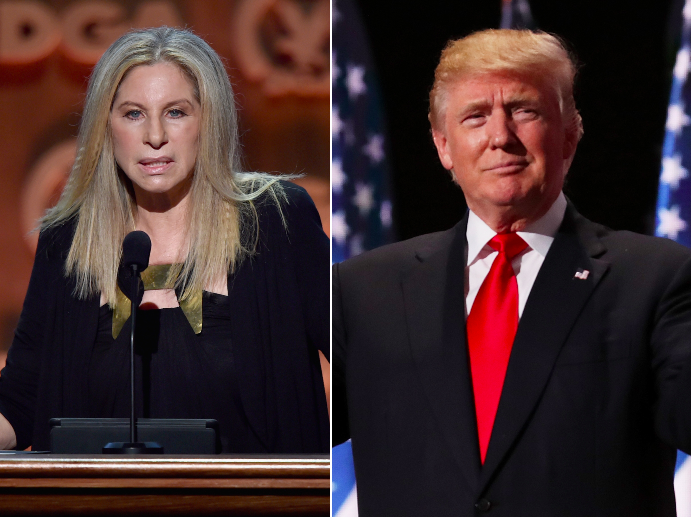 Barbra Streisand calls Trump a 'one-man weapon of mass destruction' in scathing op-ed