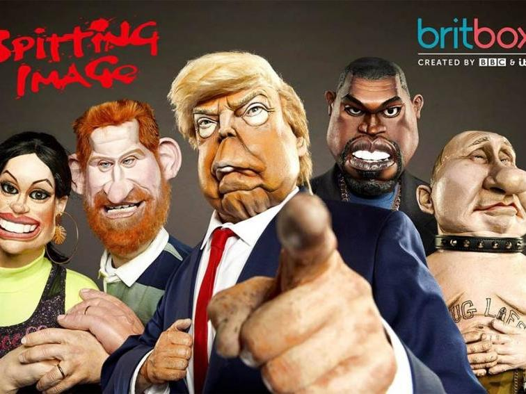 Britbox Spitting Image Revival To Parody Donald Trump Boris Johnson And Prince Andrew The Independent