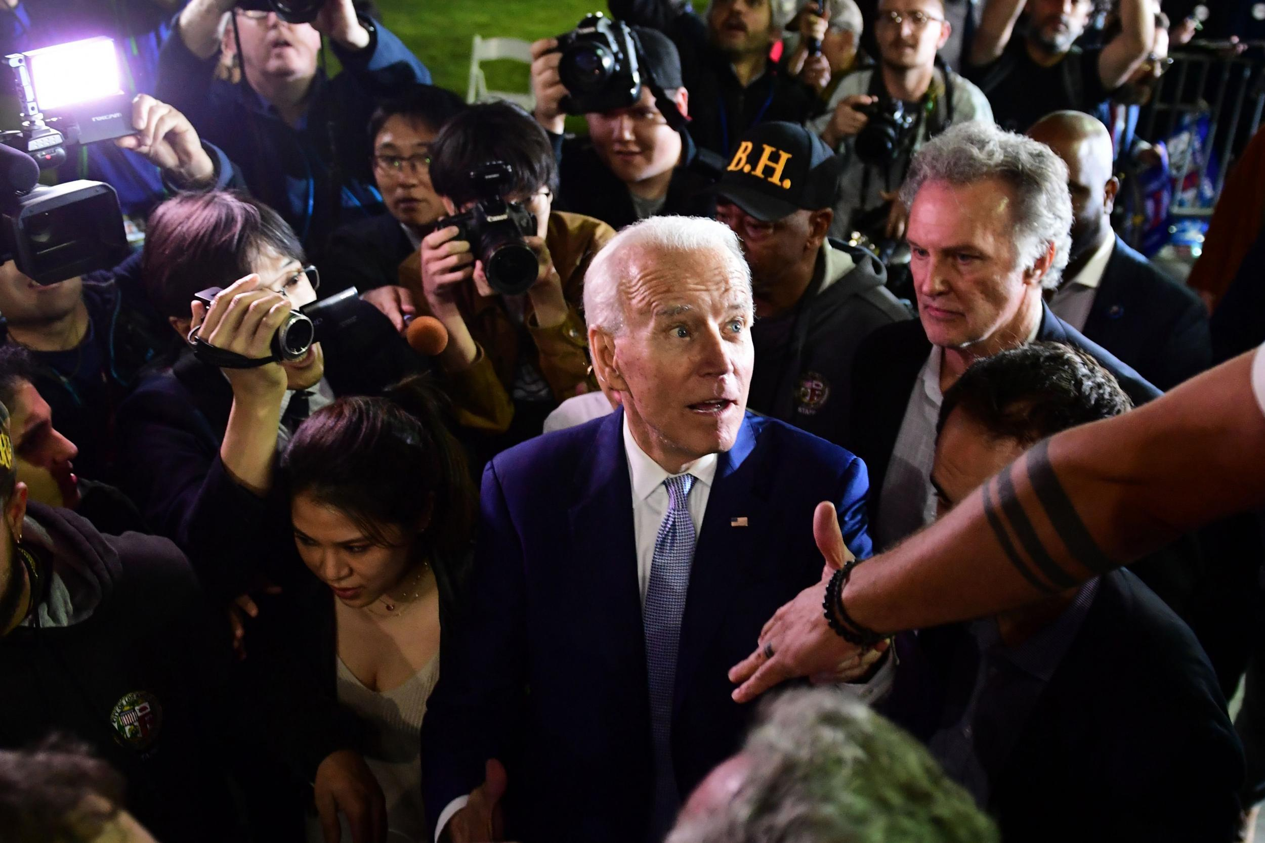 Furious veterans confront Joe Biden over Iraq war