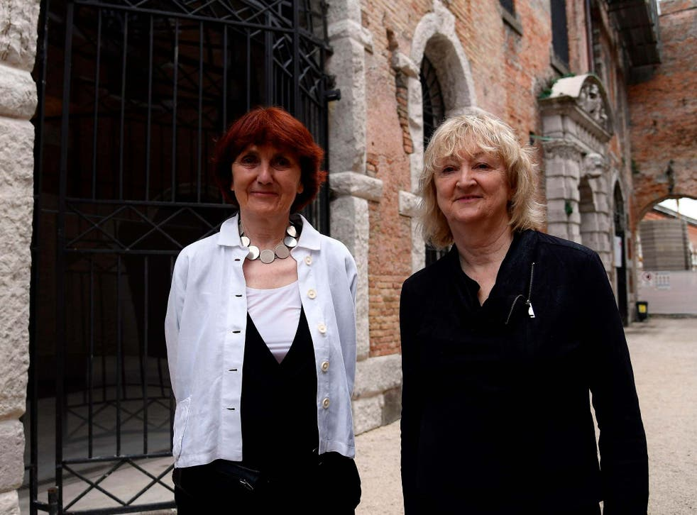 Yvonne Farrell (right) and Shelley McNamara prefer to be known for 'a way of thinking' rather than the prizes they've won