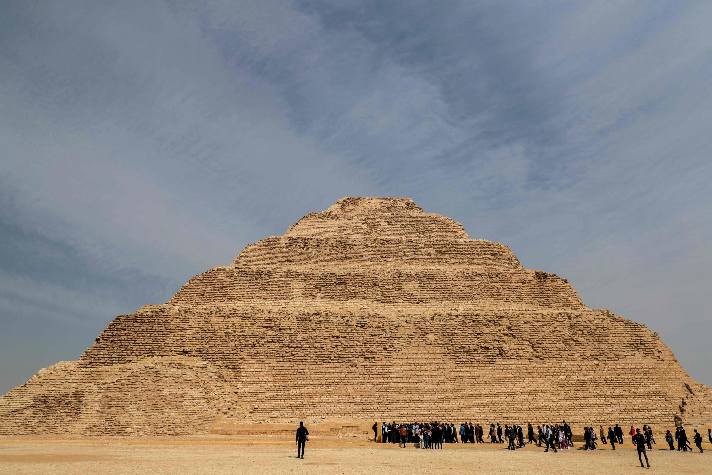 Egypt reopens its oldest pyramid after £5m restoration | The IndependentShapeleftrightShape