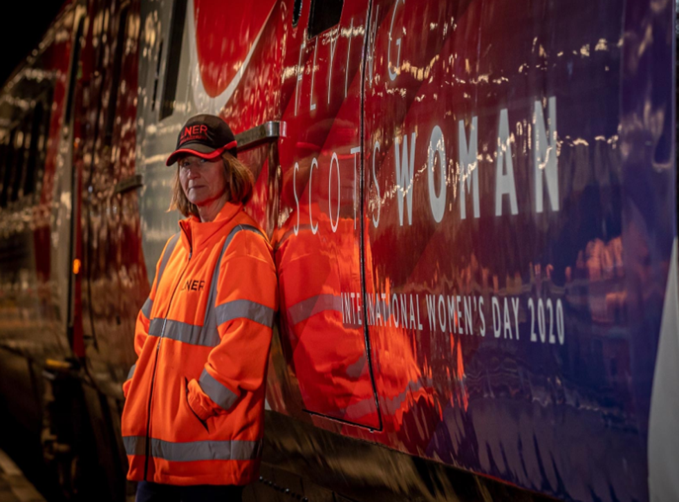 LNER is rebranding the 'Flying Scotsman' as the 'Flying Scotswoman' this month