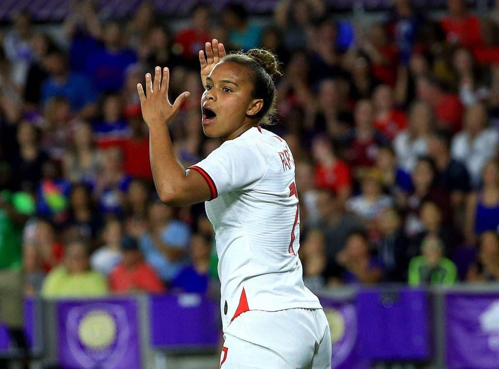 England once again failed to match the USA