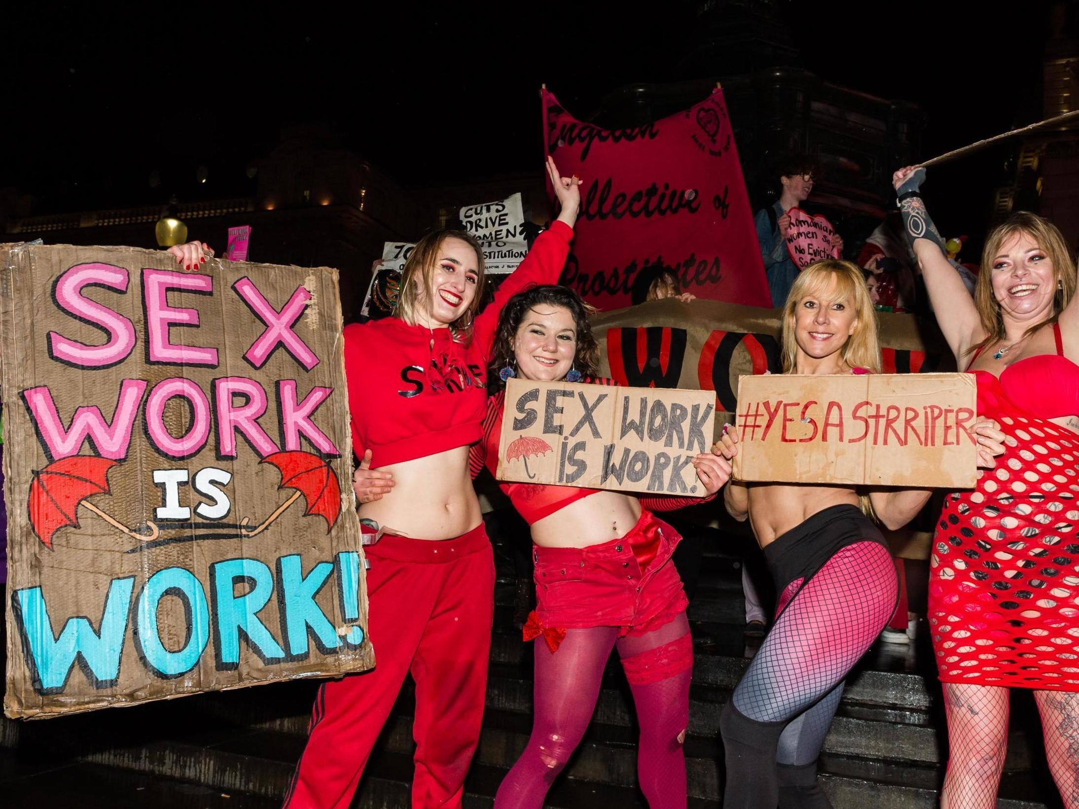 Sex workers left penniless and pushed into homelessness due to coronavirus