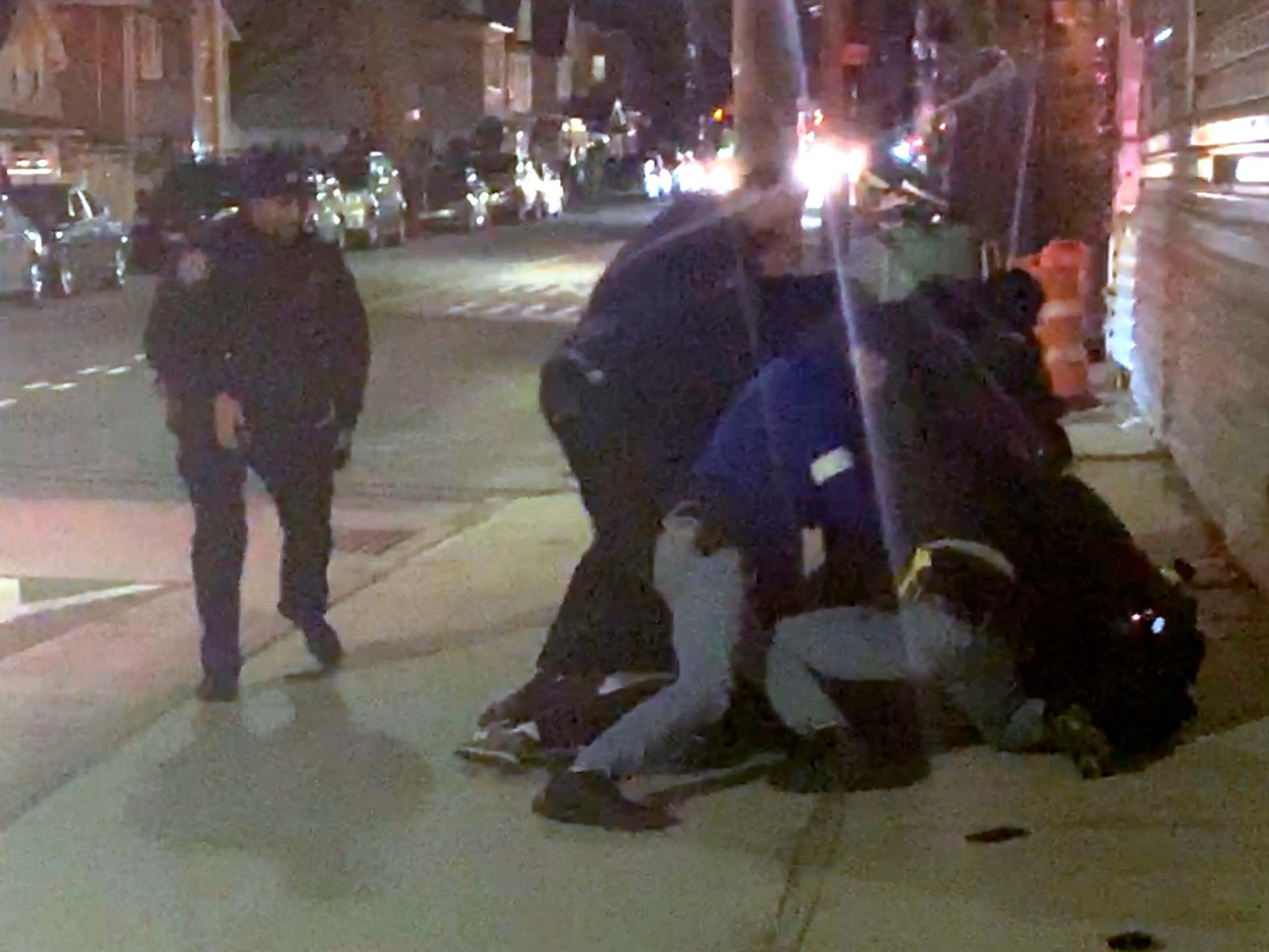 NYPD orders investigation into video showing violent arrest involving multiple officers
