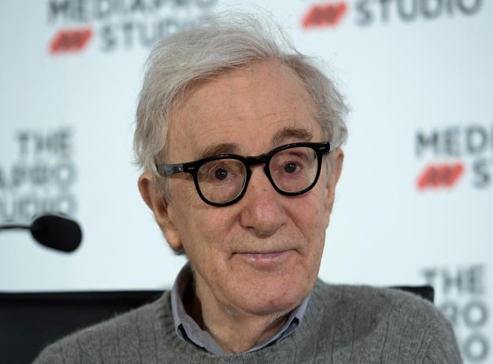 Woody Allen in San Sebastian on 9 July 2019.