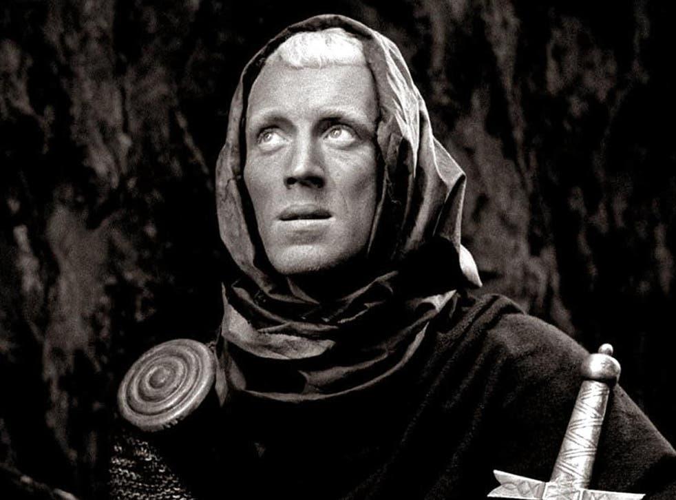 Von Sydow in Ingmar Bergman's 'The Seventh Seal'