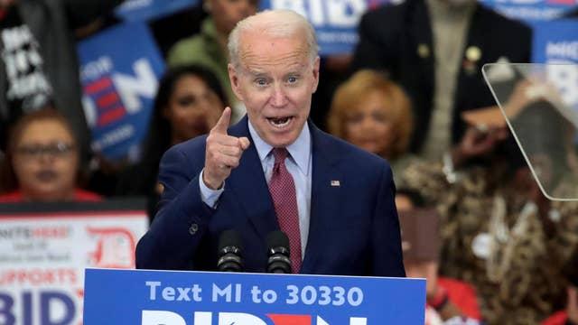 pbJoe Biden:/b 39 delegates/p pbBernie Sanders:/b 28 delegates/p