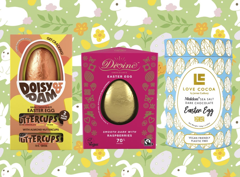 Best Vegan And Dairy Free Easter Eggs For 2020 The Independent