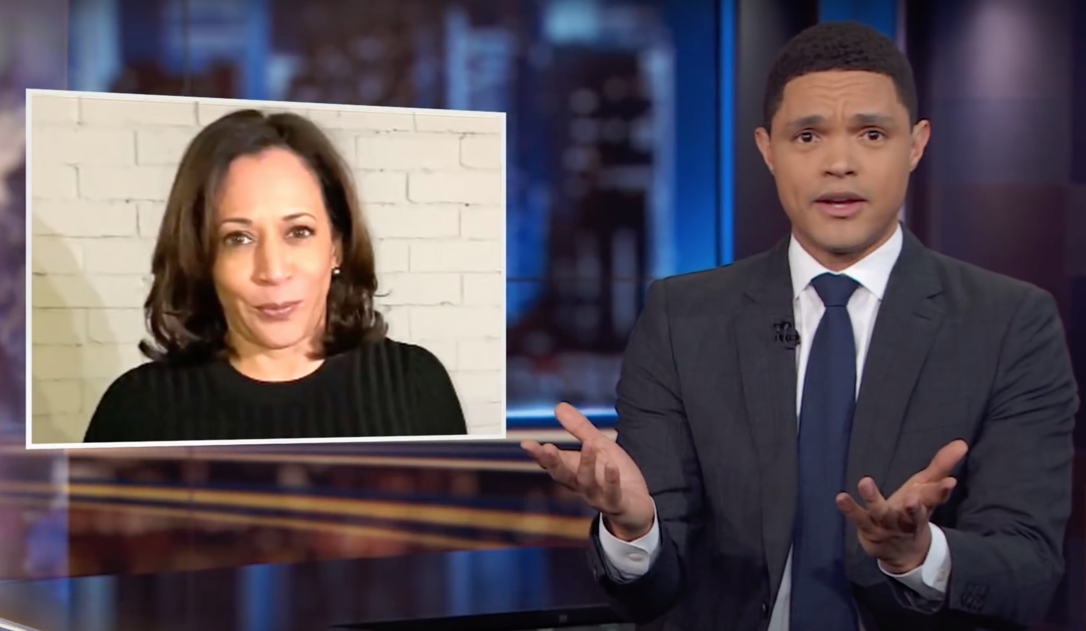 Kamala Harris Biden Endorsement Video Mocked As Hostage Footage The Independent The Independent