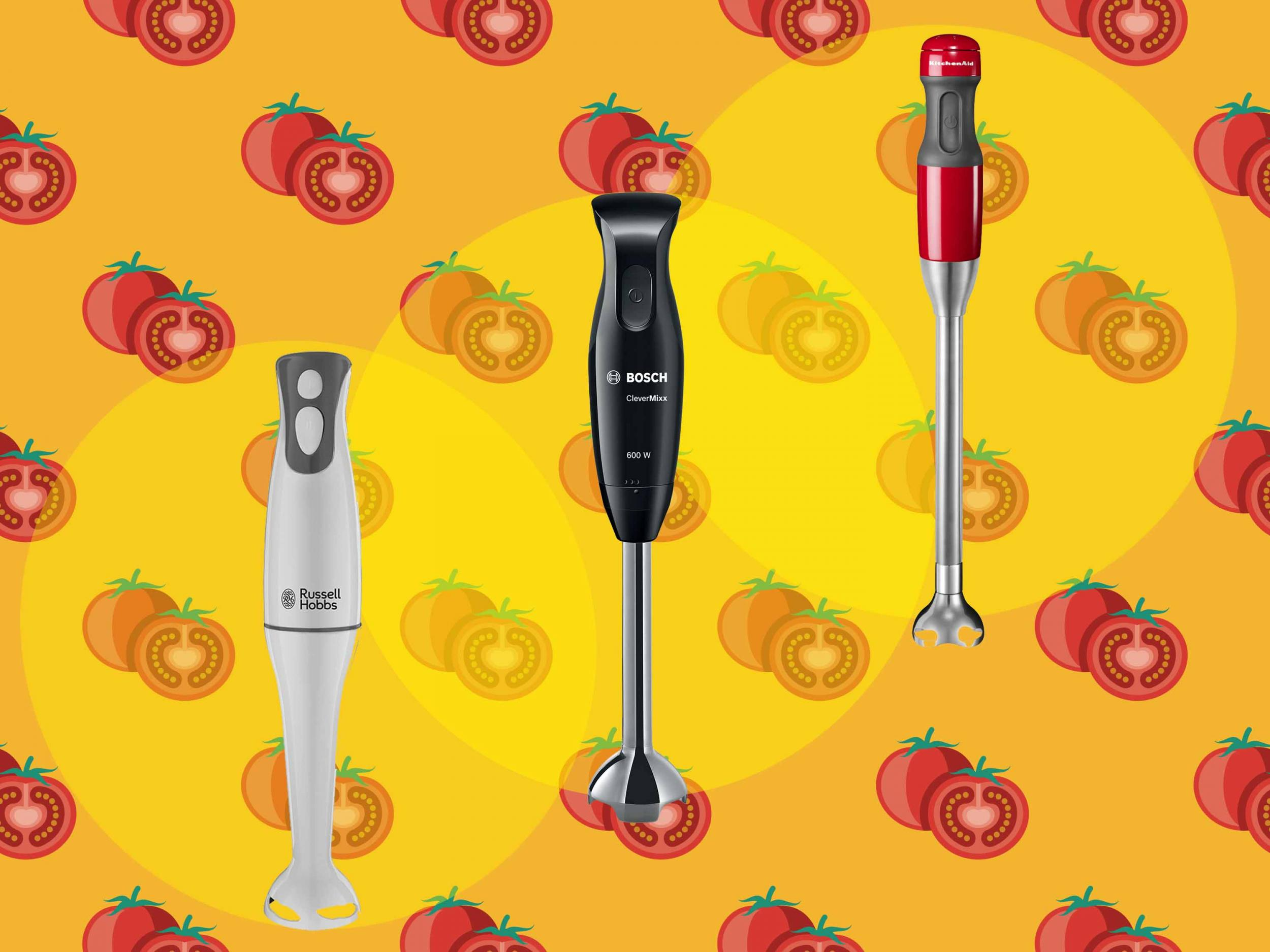 Best hand blender for soups, smoothies and sauces