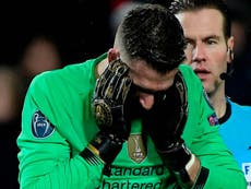 Klopp refusing to blame Adrian as Liverpool crash out of Europe