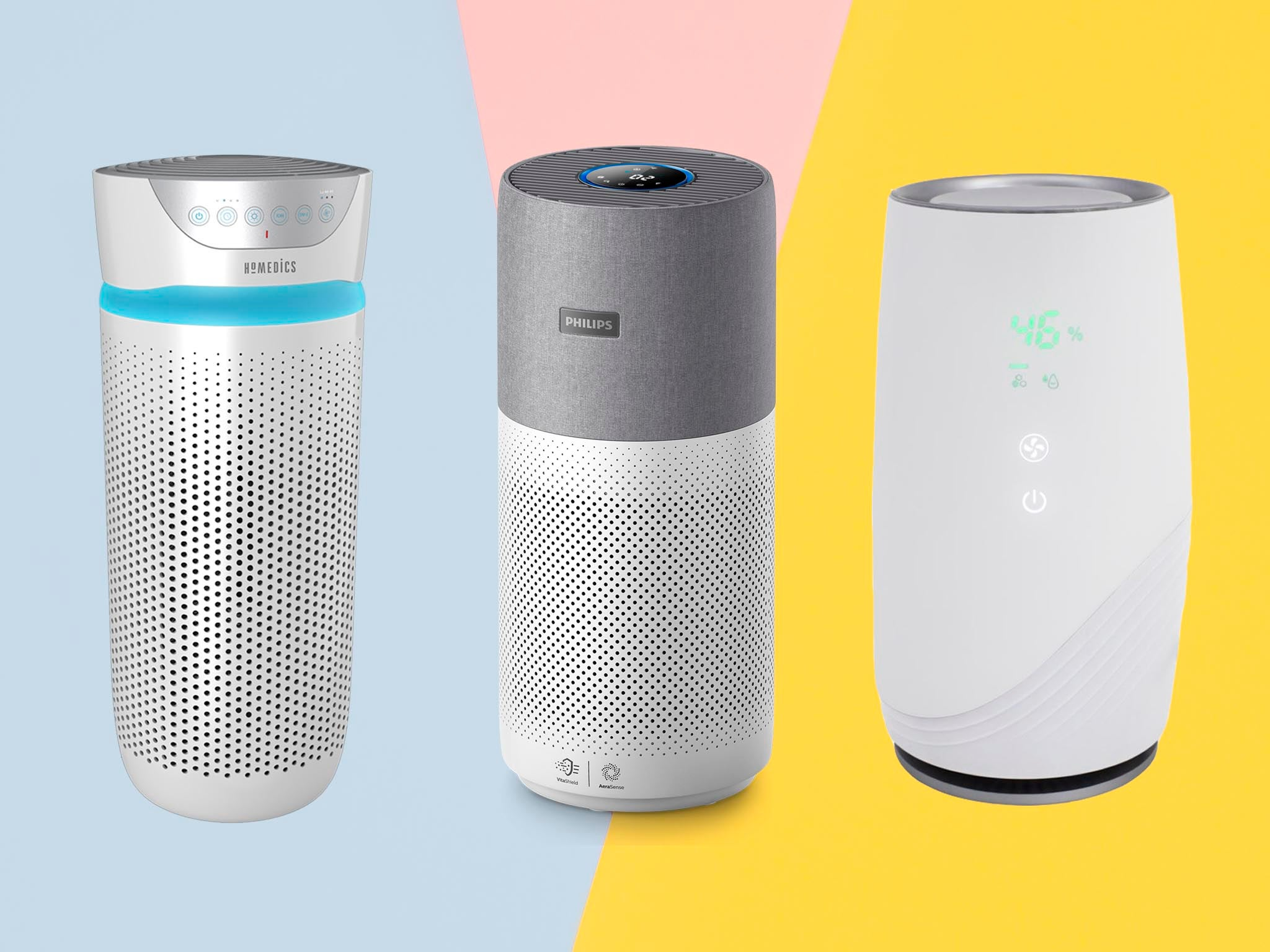 Dehumidifiers, air purifiers, aroma diffusers and cooling