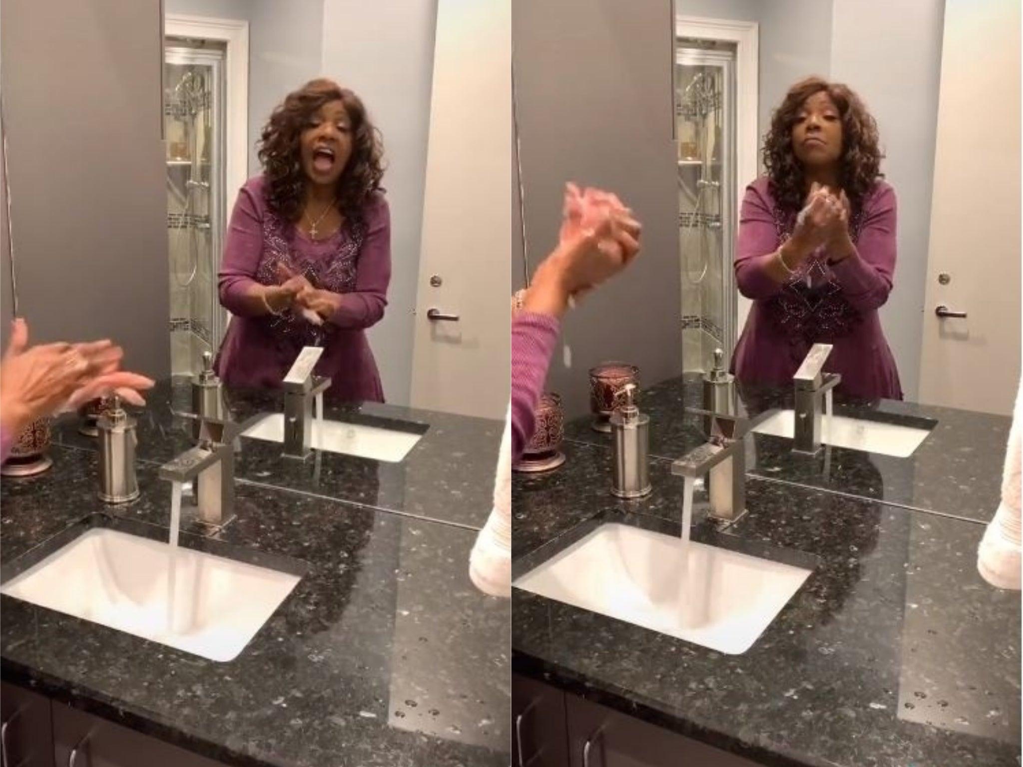 Coronavirus: Gloria Gaynor promotes hand-washing with viral 'I Will Survive' TikTok video