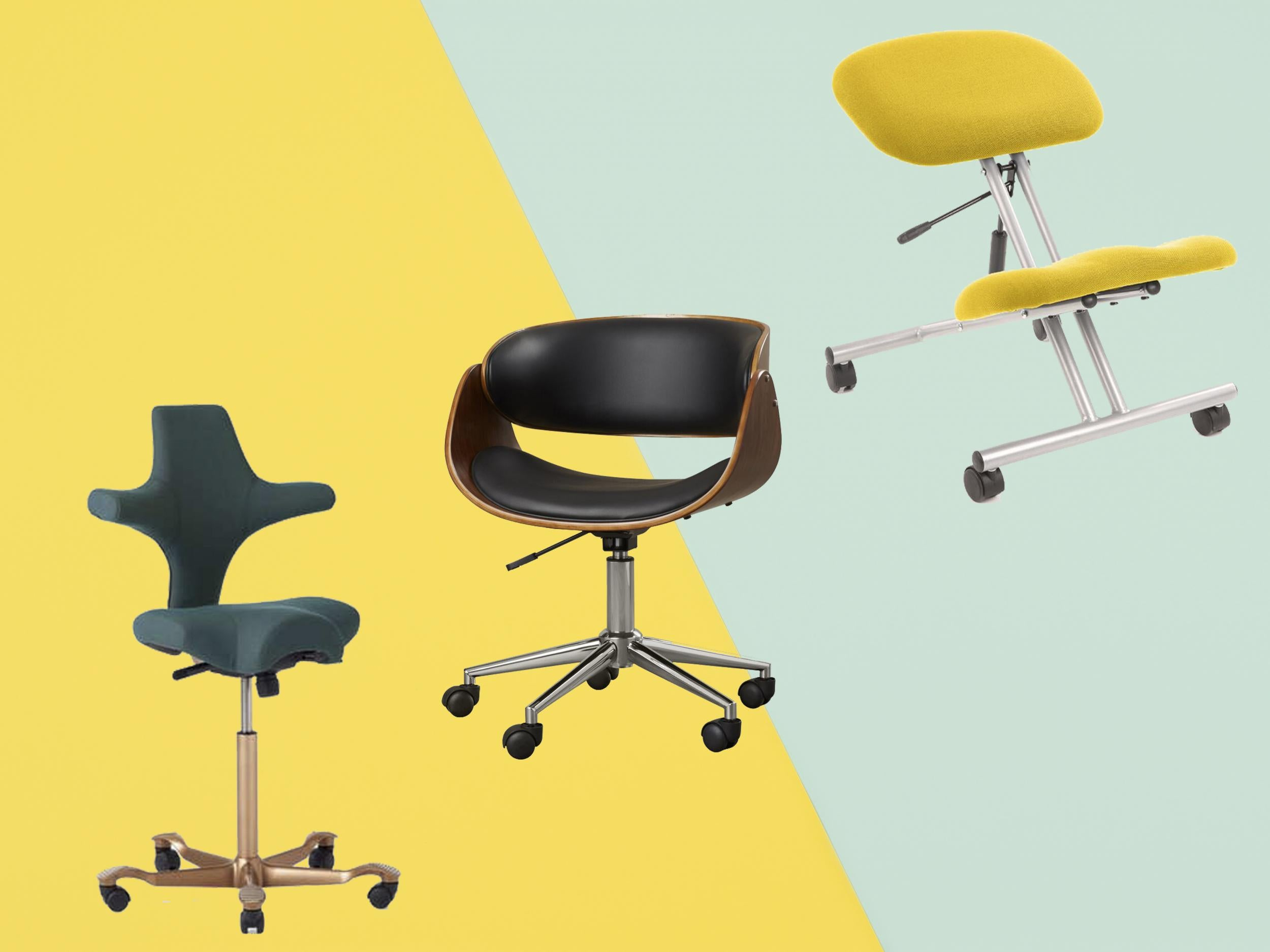 Image of: Best Office Chairs Ergonomic Chairs To Work From Home In Comfort The Independent