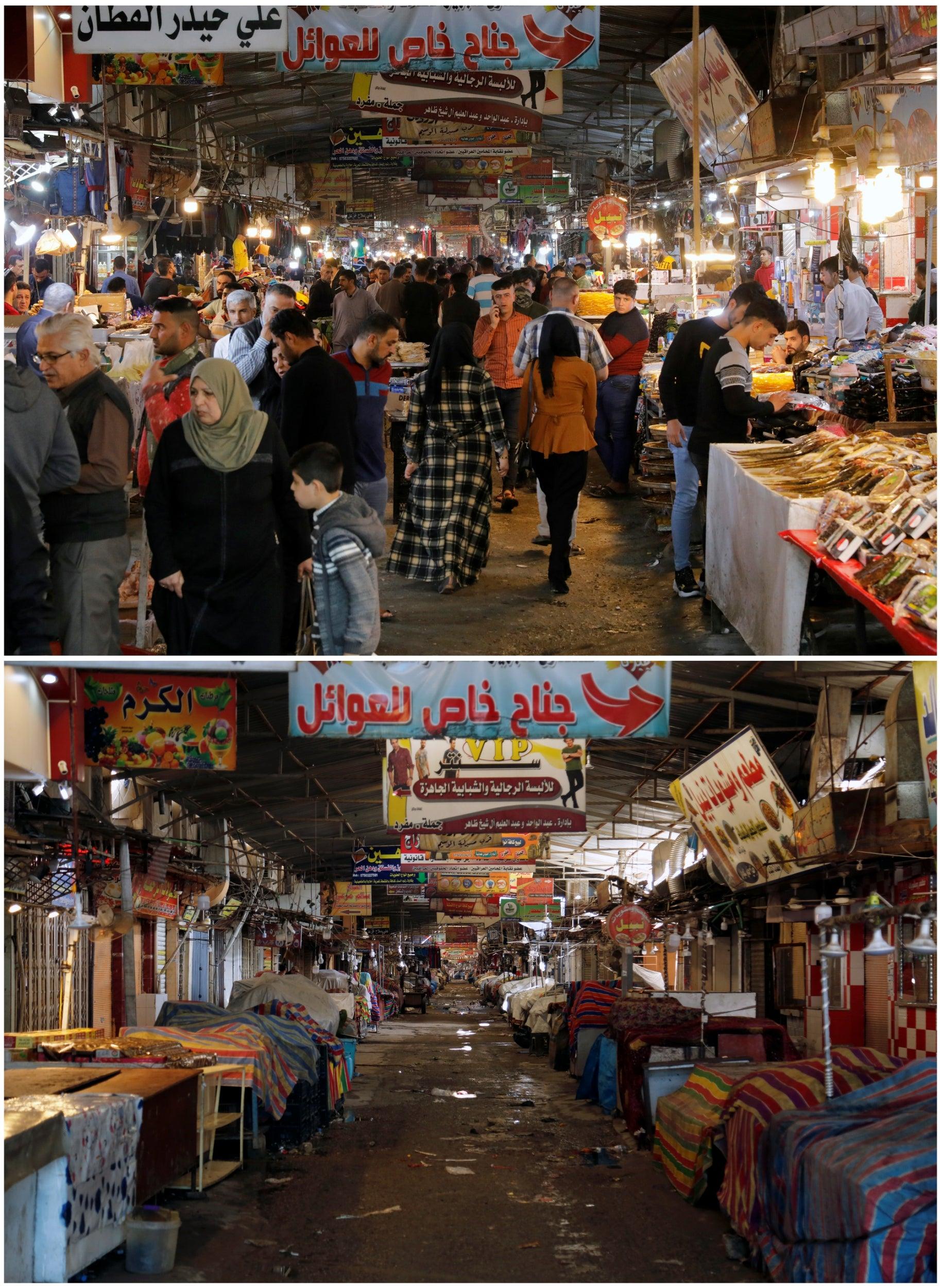 Nabi Younes market, Mosul
