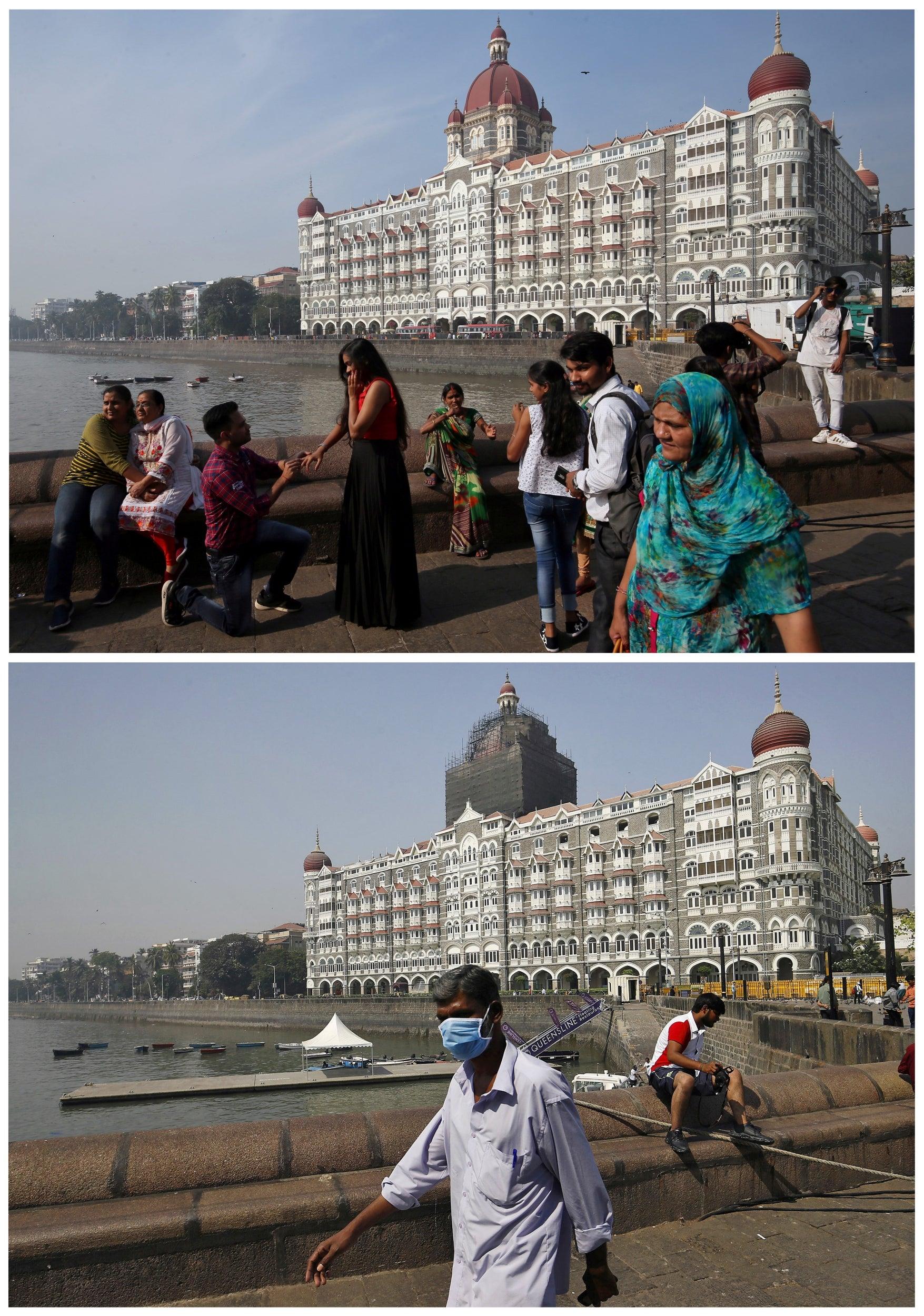 Taj Mahal hotel, India