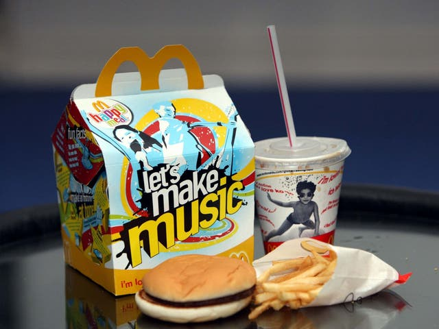 Happy Meal from a McDonald's restaurant