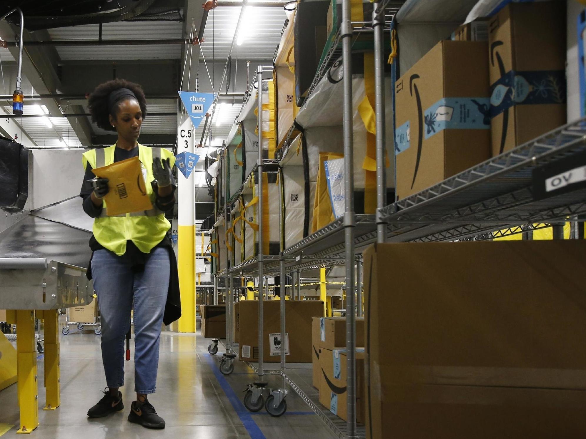 Amazon suspends all warehouse shipments ...