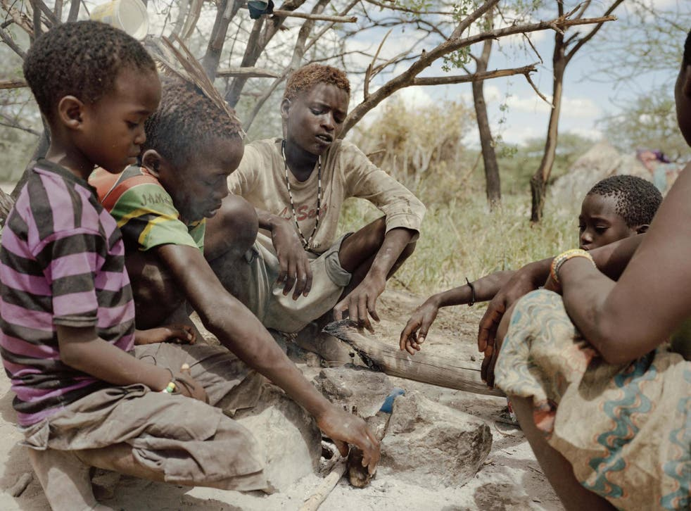 Researchers found that the Hadza would often sit on the ground but also frequently squatted