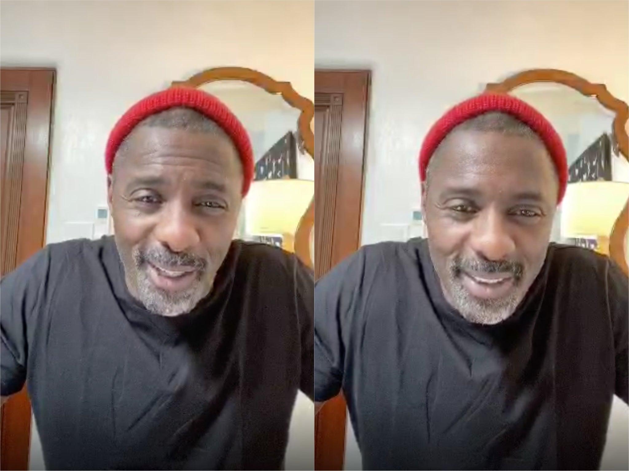 Coronavirus: Idris Elba says his asthma puts him in 'high risk' category